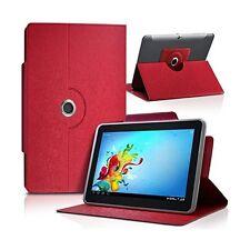 """Housse Etui Universel S couleur Rouge pour Tablette Polaroid Infinite+ 7"""""""