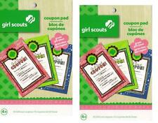 2 Count Girl Scouts Coupon Pad Reward Book Colorbok