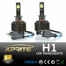 All-IN-ONE 80W H1 LED Headlight Conversion Kit - Replaces Halogen & HID Bulbs