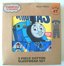 69% OFF! THOMAS TRAIN & FRIENDS 2-PC SLEEPWEAR PAJAMA SET 12 MOS BNEW IN BOX