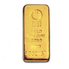 Kilo gram Gold Bar - Austrian Mint (Cast) - SKU #78387