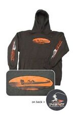 Bass Boat Hooded Fishing Sweatshirt