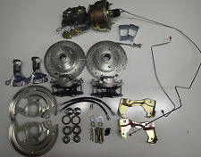 1968 1972 chevelle front disc brake conversion gto 8 inch dual diaphragm booster