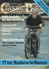 Classic Bike 83-10  Mondial 250, Norton Commando, BSA C10, Velocette GTP BAT