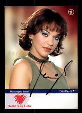 Mariangela Scelsi Verbotene Liebe Autogrammkarte Original Signiert # BC 85735
