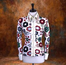 3X-LARGE Western Showmanship Pleasure Horsemanship Show Jacket Shirt Rodeo Queen