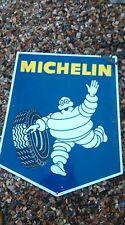 ancienne plaque émaillée Michelin  BIBENDUM 1967,lof,vintage,garage,no copie,