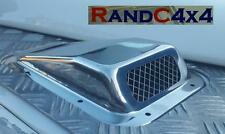 DA4001SS Land Rover Defender Stainless Steel Wing Top Air Intake Grill Righ Hand