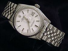 Rolex Datejust Mens Watch Stainless Steel with Jubilee Band & White Dial 1603