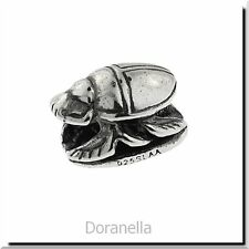 Authentic Trollbeads Sterling Silver 11308 Scarab, Silver :0