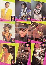 SUPERSTARS MUSICARDS 1991 UK BASE CARD SET OF 150 SUPER STARS MUSIC CARDS PRINCE