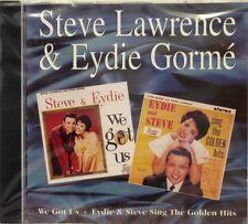 STEVE LAWRENCE & EYDIE GORME - WE GOT US/GOLDEN HITS - 2on1- 24 Tracks
