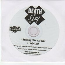 (EB212) Death By Sexy, Burning Like A Fever - 2013 DJ CD
