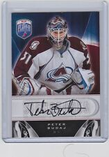 2009-10 UPPER DECK BE A PLAYER PETER BUDAJ UD AUTO BAP SIGNATURE AVALANCHE