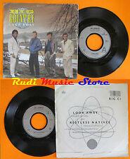 LP 45 7''  BIG COUNTRY Look away Restless natives 1986 MERCURY BIGC 1 cd mc dvd