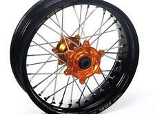 Jante pour Roue Arriere Noire Moyeu Orange KTM SX 125 525 EXC 125 530 17 x 4.25
