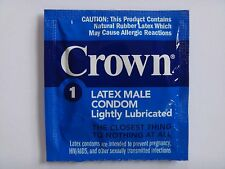 Okamoto CROWN Condom Skinless Thinnest 10pcs LOT OF 10