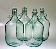 6 x 5L Glass Demijohn Bottle with Swing Top lid - Home Brew spirits still spirit