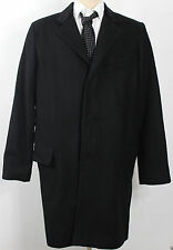 Ralph Lauren Denim Supply Coat Jacket Mens Large Black Wool New $298
