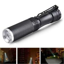 7W Mini CREE XPE-Q5 LED Flashlight 14500 AA Batterie Taschenlampe Licht Konvex