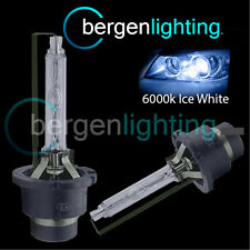 D4S ICE WHITE XENON HID LIGHT BULBS HEADLIGHT HEADLAMP 6000K 35W FACTORY FITTED