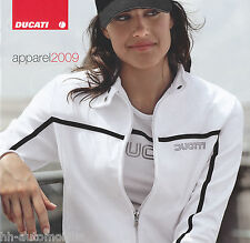Ducati Apparel 2009 Bild Prospekt o. Text picture brochure without text Motorrad