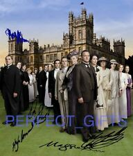 DOWNTON ABBEY X5 CAST SIGNED 10X8 REPRO PP PHOTO PRINT