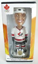 NHLPA Canada Olympic Hockey Lemieux Bobble Head Doll. Hand Painted. New in Box