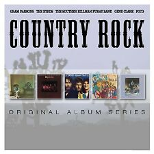 COUNTRY ROCK 5CD NEW Gram Parsons/Byrds/Souther Hillman Furay/Gene Clark/Poco