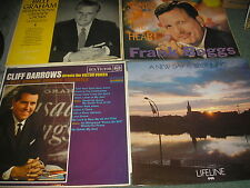 LOT OF 4 CHRISTIAN RELIGIOUS LP'S ALL PICTURE AND LISTED