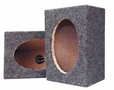 Pyramid Car Audio PMB69MT 6' X 9' Empty Carpeted Wood Speaker Cabinet