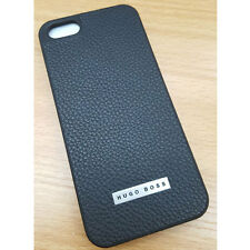 Genuine Hugo Boss Leather Cosine Pouch Case Black For Apple iPhone 5, 5s ,SE