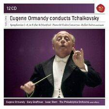EUGENE ORMANDY - EUGENE ORMANDY CONDUCTS TCHAIKOVSKY  (12 CD)  NEU