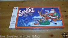 Vintage Milton Bradley Santa's Special Delivery Game 1989 New Sealed! Christmas