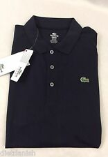 Lacoste SPORT Men's Polo Shirt New With Tags Eclipse Dark Blue Size EU 6 US L
