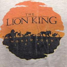 VINTAGE WORLD TOUR 1994 THE LION KING T SHIRT XL