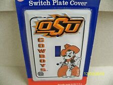 Oklahoma State University Cowboys NCAA football single light switch plate cover