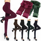 Women Thermal Thick Warm Fleece lined Fur Winter Tight Pencil Leggings Pants TB