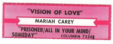Juke Box Strip MARIAH CAREY - Vision Of Love / Prisoner/All In Your Mind/Someday