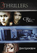 THRILLERS 3-DISC SET: CRY OF THE OWL, PARANORMAL ACTIVITY & DON'T LOOK NOW (DVD)