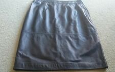 "Alannah Hill ""l might shoot him skirt"". Sz 14. Can fit 12. Leather skirt."