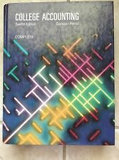 College Accounting Twelfth Edition Complete by Carlson-Heintz (store#3710C)
