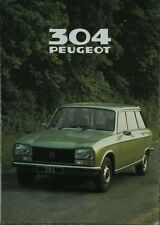 Peugeot 304 Estate Sales Brochure - 1979