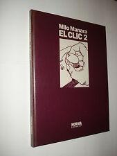 MILO MANARA / EL CLIC 2  - EDICIÓN DE LUJO EN COLOR 1992!!! NORMA EDITORIAL