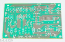 Mono 60W MOSFET power amplifier Blank PCB DIY circuit board J162 and K1058