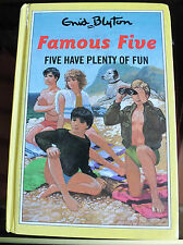 Five Have Plenty of Fun by Enid Blyton (Hardback, 1992) The Famous Five Children