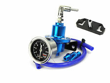Blue FPR Fuel Pressure Regulator Fits Honda Civic B16A2, B18C1/4/5 D16Z6