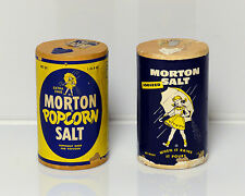 Vintage Morton Salt Popcorn and Regular