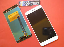 """DISPLAY LCD+ TOUCH SCREEN PER ASUS ZENFONE 3 ZE520KL 5,2"""" BIANCO RICAMBIO NUOVO"""