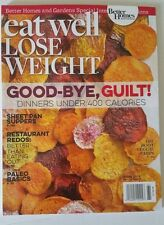BETTER HOMES & GARDENS EAT WELL LOSE WEIGHT,MARCH 2016 ISSUE  BRAND NEW MAGAZINE